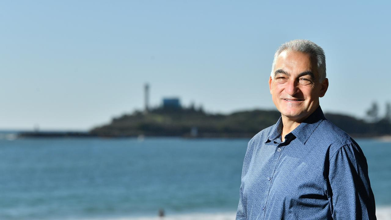 Division 4 Councillor Joe Natoli at Mooloolaba. Photo: John McCutcheon / Sunshine Coast Daily