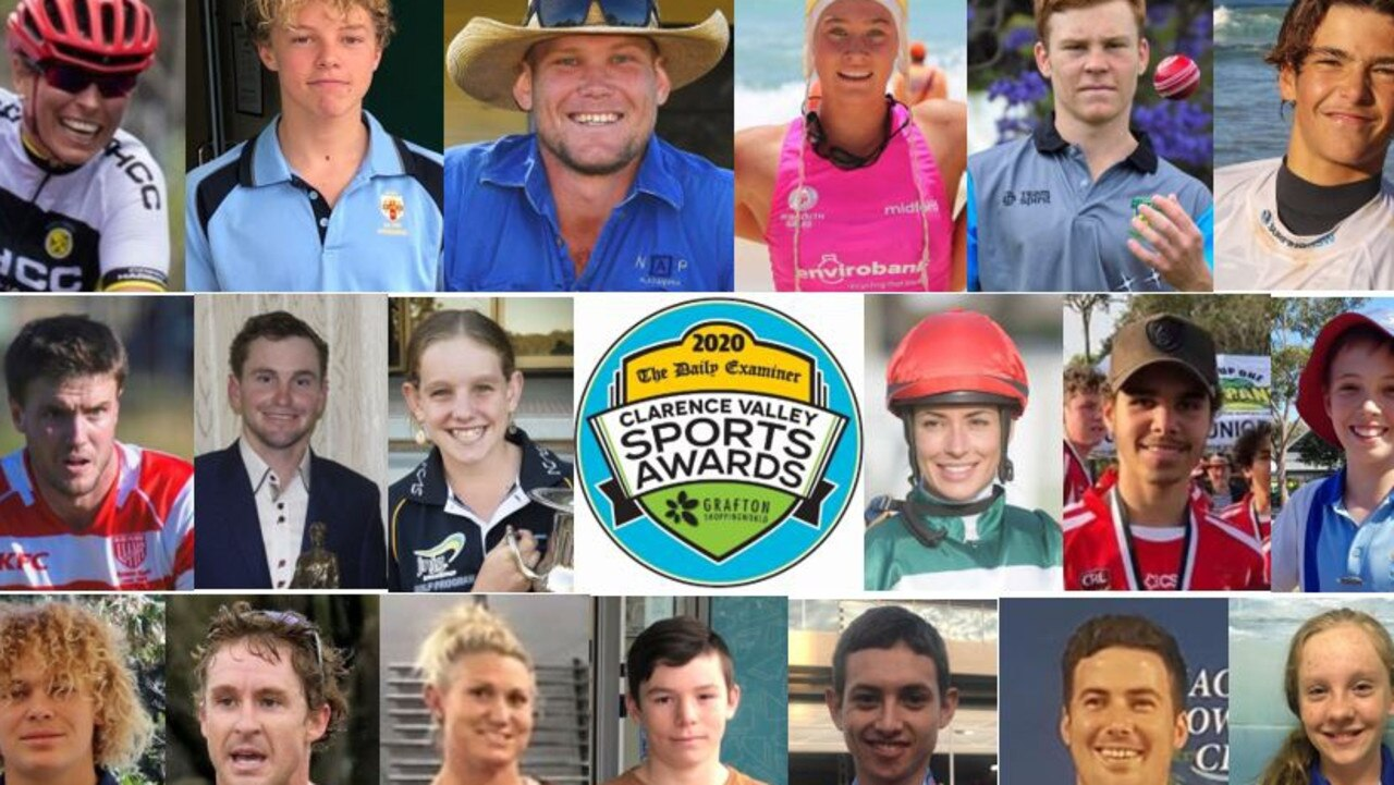 Despite COVID-19 causing disruptions to sport in 2020, there is a formidable of finalists in line for the major individual awards at the Clarence Valley Sports Awards, including the Grafton Shoppingworld People's Choice.