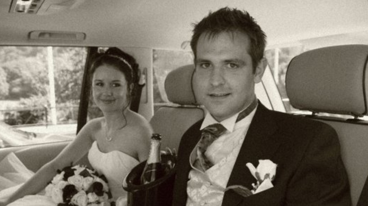 Juliette has carried guilt with her over Jill Meagher's murder. Jill seen here on her wedding day to husband Tom Meagher. Picture: Facebook.