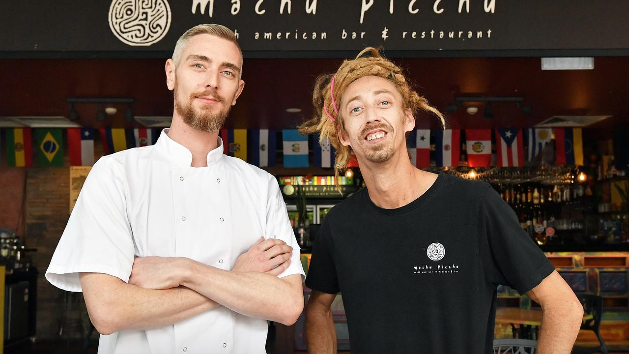 Machu Pichu owners Matt Turner and Michael Wallace will launch a new restaurant at the same location, to be named Enigma. Picture: Patrick Woods / Sunshine Coast Daily.