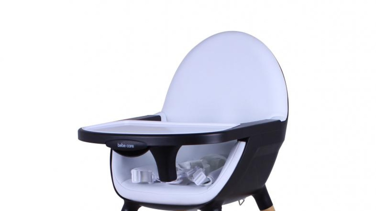PRODUCT RECALL : A national recall has been issued for popular high chairs. CNP Brands — Bebecare Pod Nui High Chair, Childcare Pod High Chair and Childcare Coda High Chair. Picture: Supplied