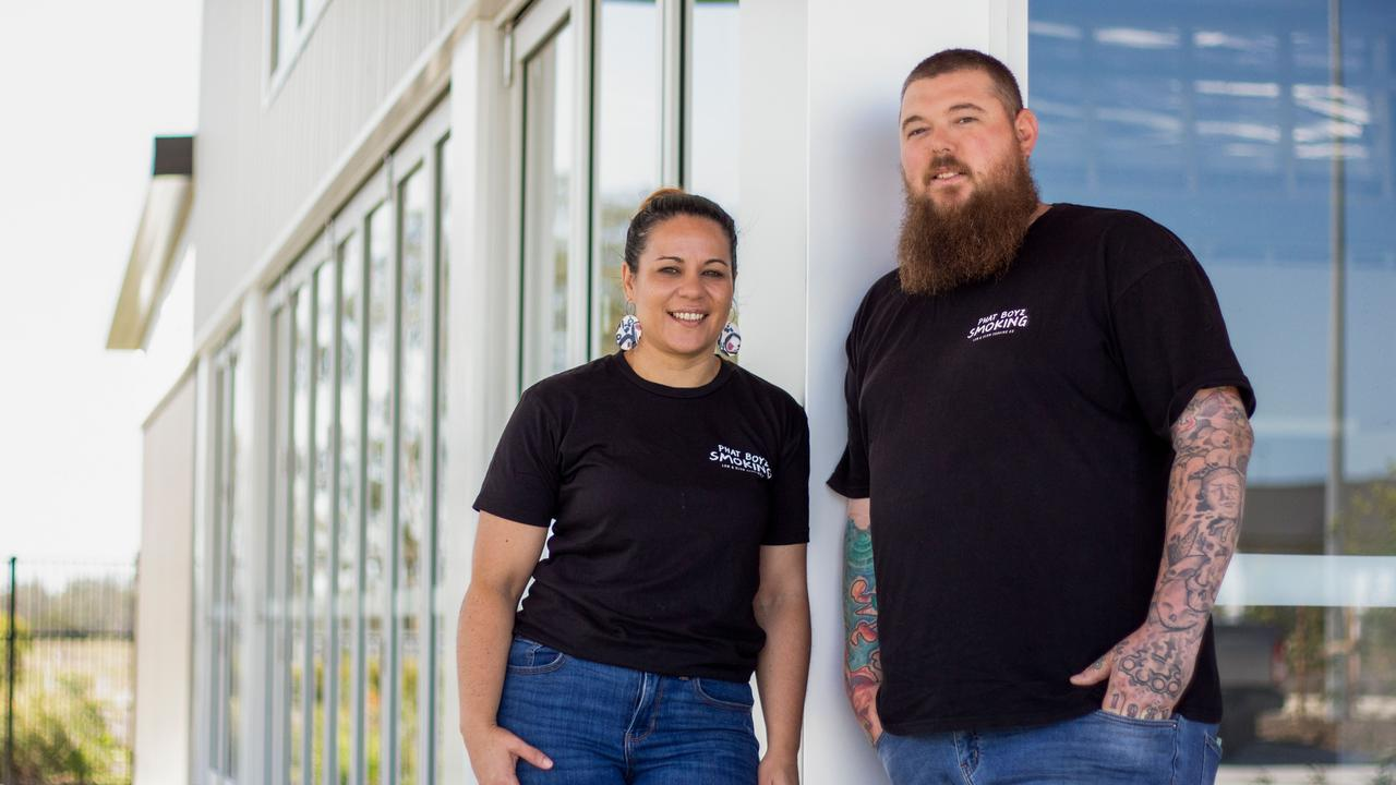 Luke and Laurie-Anne Saggus of Phat Boyz Smoking are opening a restaurant in Walloon in 2021.
