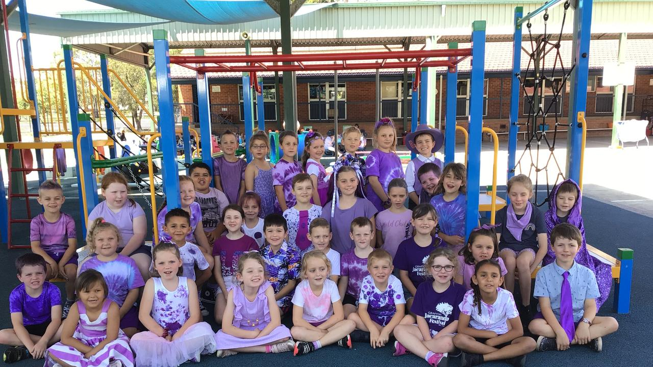South Grafton Public School went all out for their Jacaranda Thursday Mufti Day.