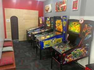 Goodbye restaurant, hello games arcade!