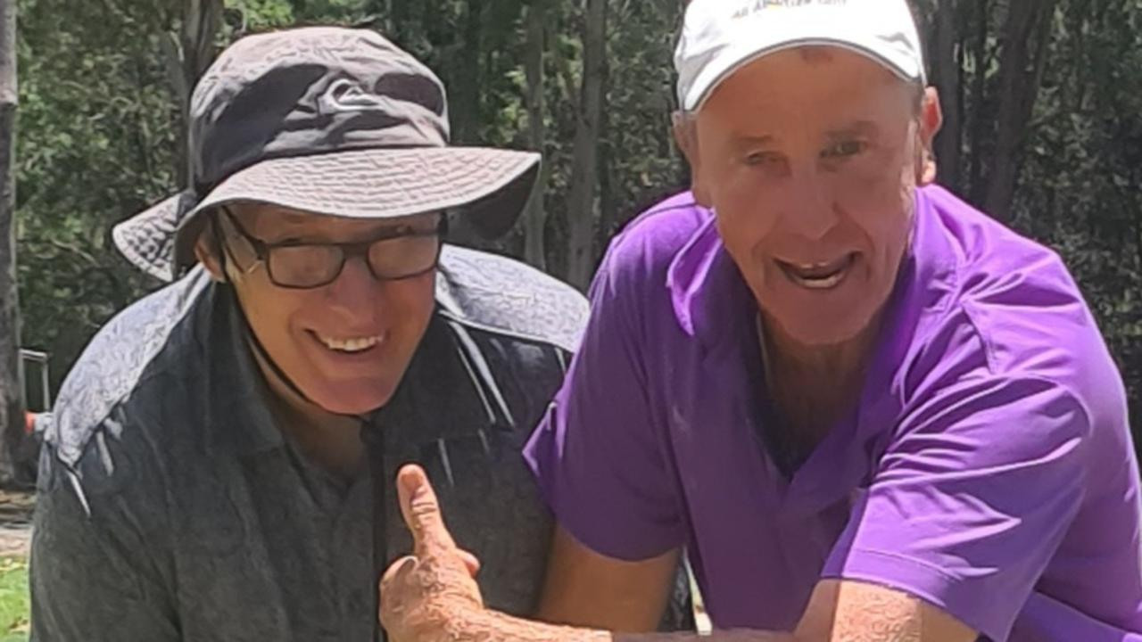 Former professional Marc Bright has been providing instruction and encouragement to disabled golfers at Cooroy for nearly a decade.
