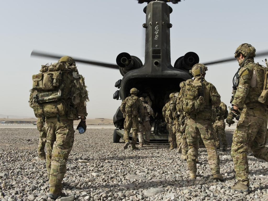 The nation's security agencies are on guard ahead of the release of the report into whether Australian soldiers committed war crimes in Afghanistan.