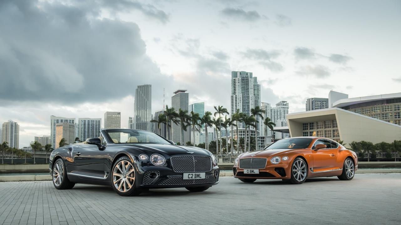 Bentley's next-generation Continental GT coupe and convertible will be electric.