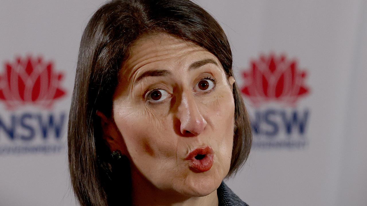 Premier Gladys Berejiklian wants the national anthem to be changed. Picture: NCA NewsWire Dylan Coker