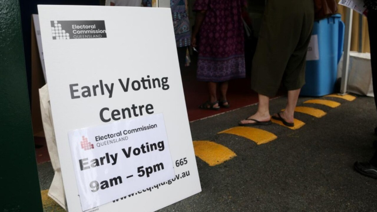 EARLY VOTING: The Electoral Commission of Queensland expanded the number and hours of operation of early voting centres across Queensland for the 2020 State general election.