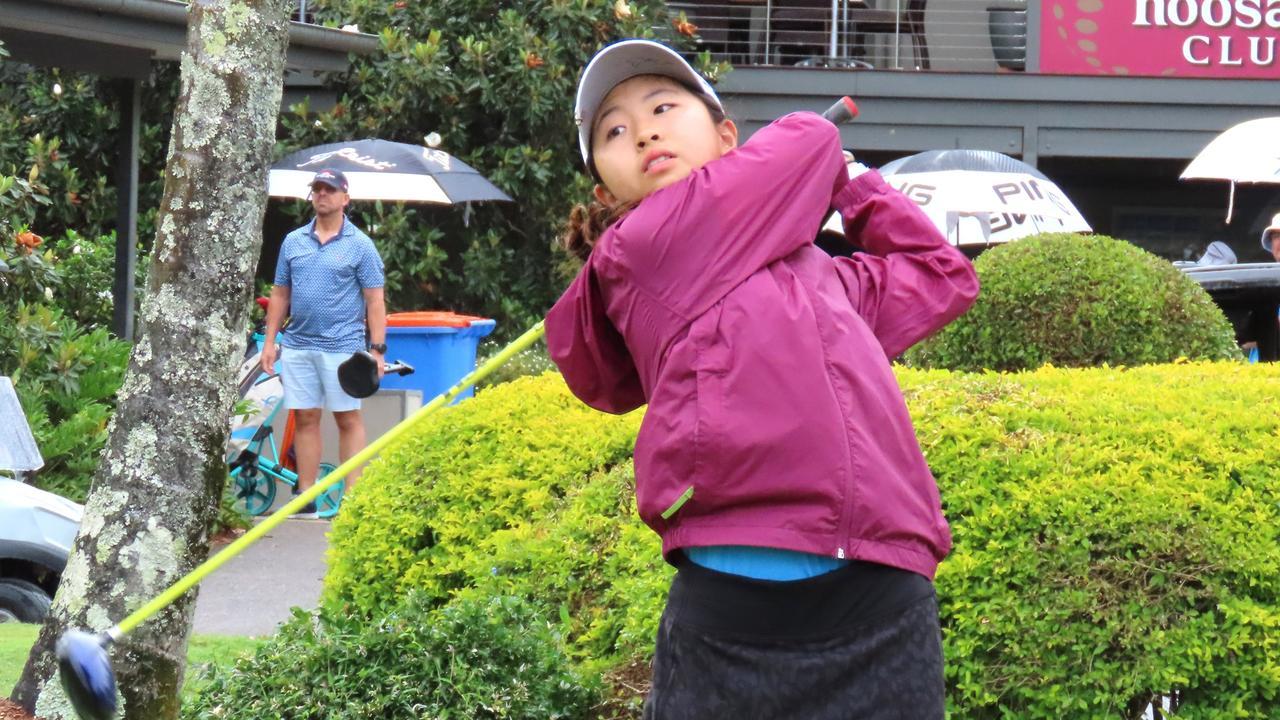 Yuuki Takada, of Southport, won the girls' category of the Noosa Junior Classic on Sunday.