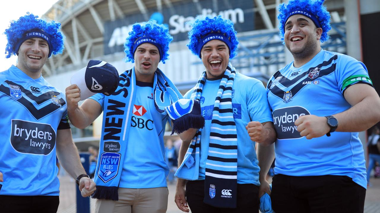 There may only be 30,000 at ANZ Stadium on Wednesday night thanks to COVID restrictions, but NSW fans are hoping to make an impact on game two.