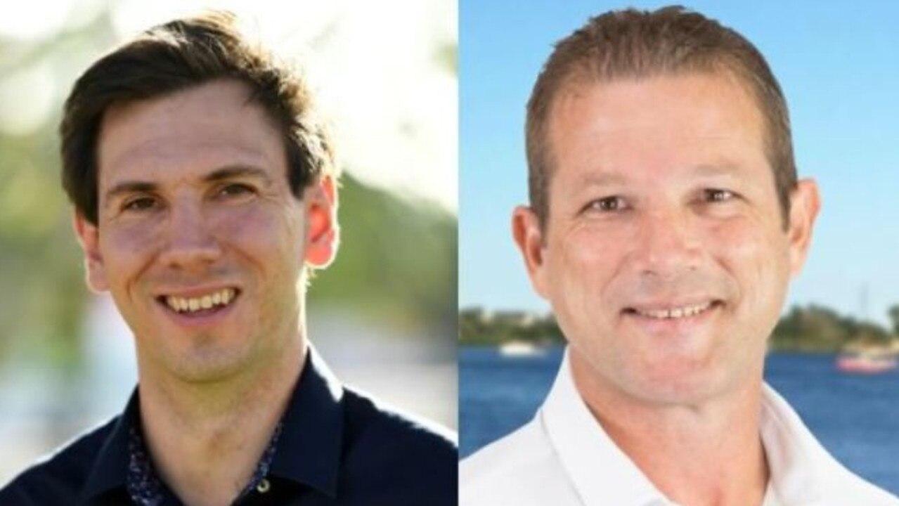 STATE ELECTION: Bundaberg candidates Tom Smith (Labor) and David Batt (LNP).