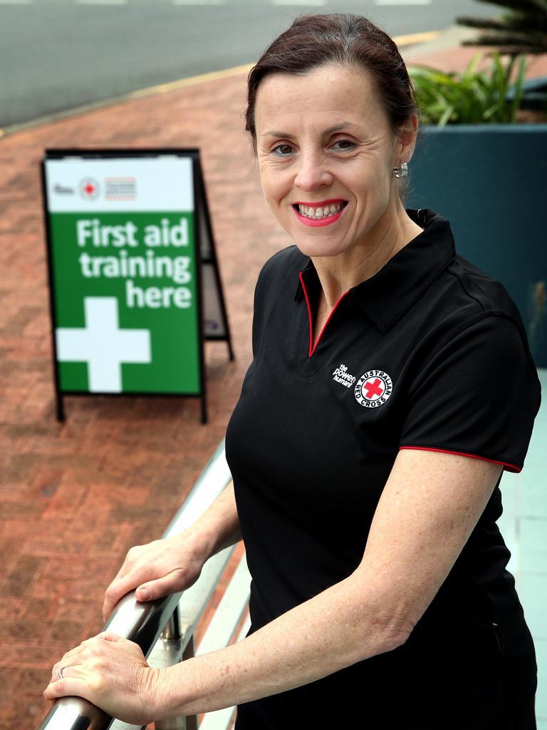 Red Cross regional training lead in Queensland, Janie McCullagh.