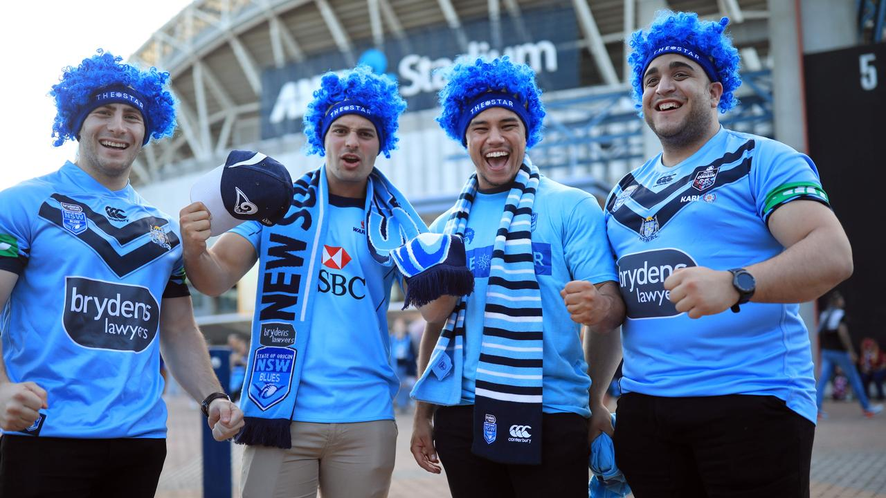 Blatchy's Blues members Jason Khoury, David Johnston, Daniel Napper and Aaron Khedair. Picture: Christian Gilles