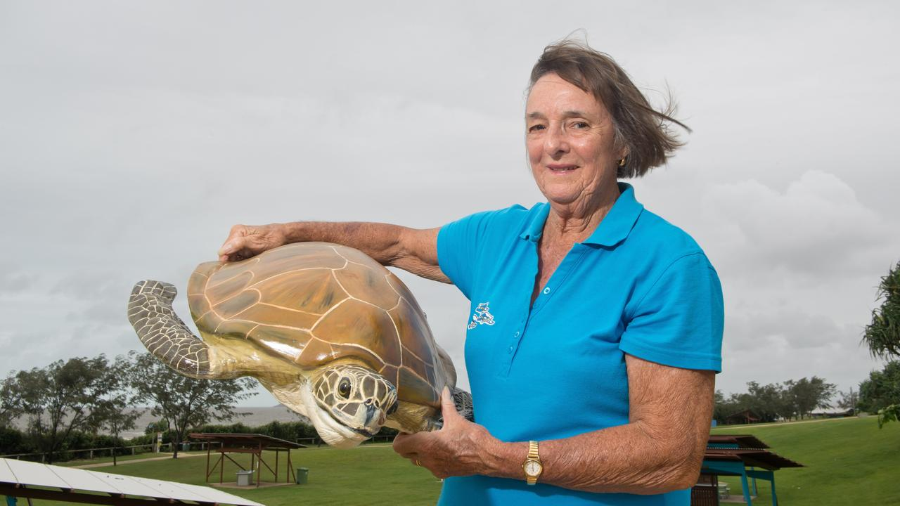Fay Griffin from Mackay District Turtle Watching Association.