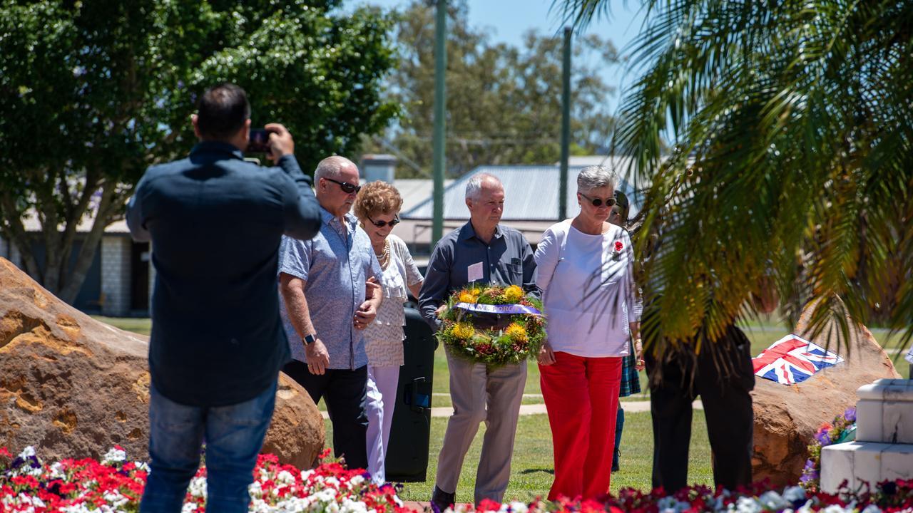 Remembrance Day Gatton, 2020. Photo: Ali Kuchel