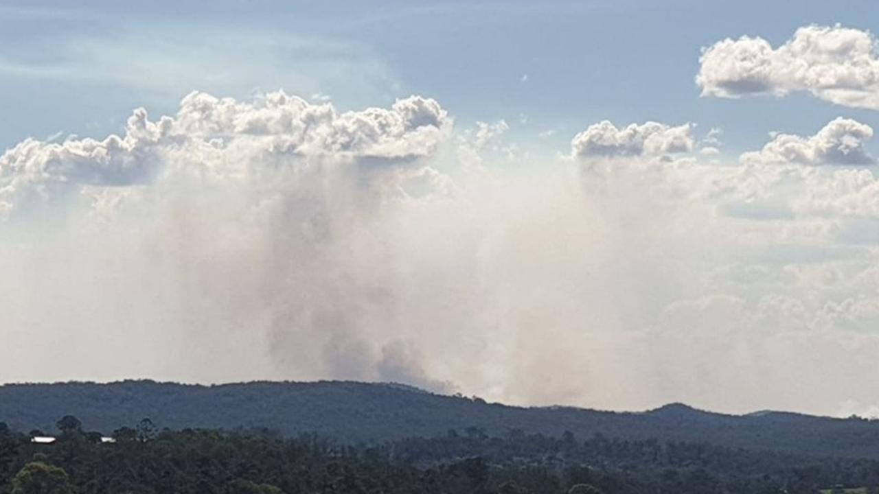 A large hazard reduction burn north of Gympie is creating a lot of smoke but is under control, according to fire services.