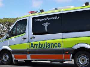Woman injured after crashing car into bridge