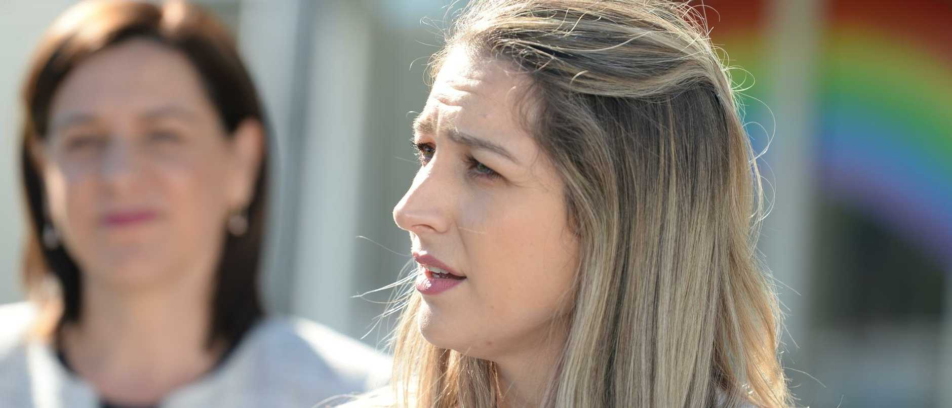 The LNP's Laura Gerber has denied Labor a second Gold Coast seat by just 310 votes, with her opponent Kaylee Campradt conceding defeat late Wednesday.