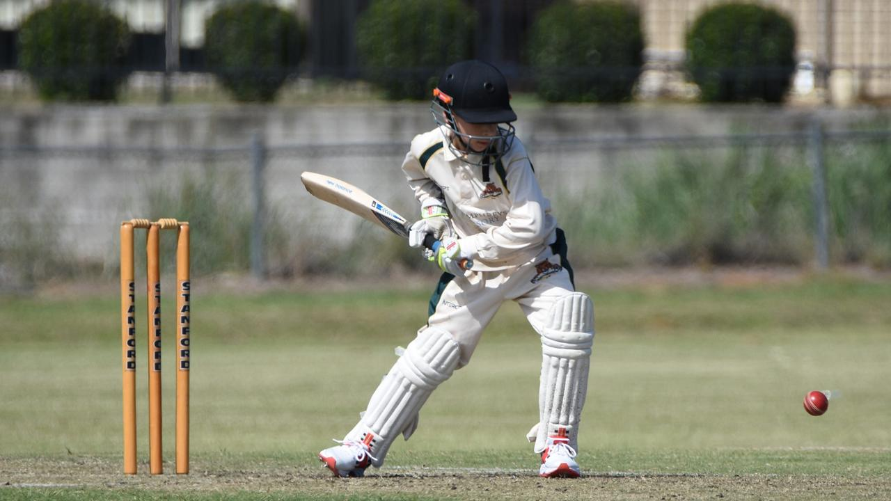 Action from the Level 2 cricket match between Northsiders and Brothers at Jim Donald Park. Picture: Gary Reid