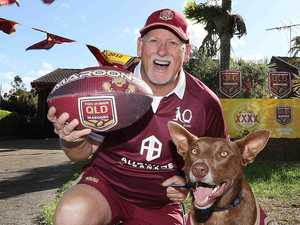 Meet Queensland's biggest Origin fan