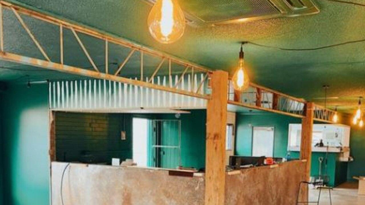 Renovations taking shape at the Jungle Bar, Buderim