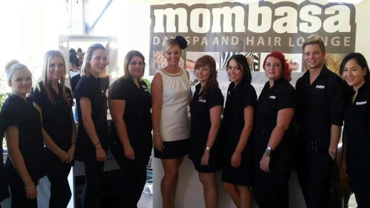 Bridget Shelton and her team from iconic local business, Mombassa.