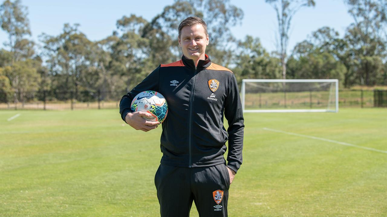 Brisbane Roar senior coach Warren Moon.