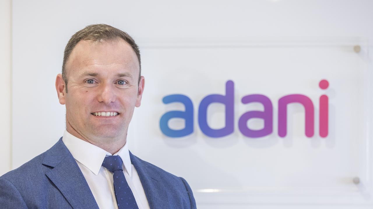 Adani Australia Mining CEO David Boshoff.