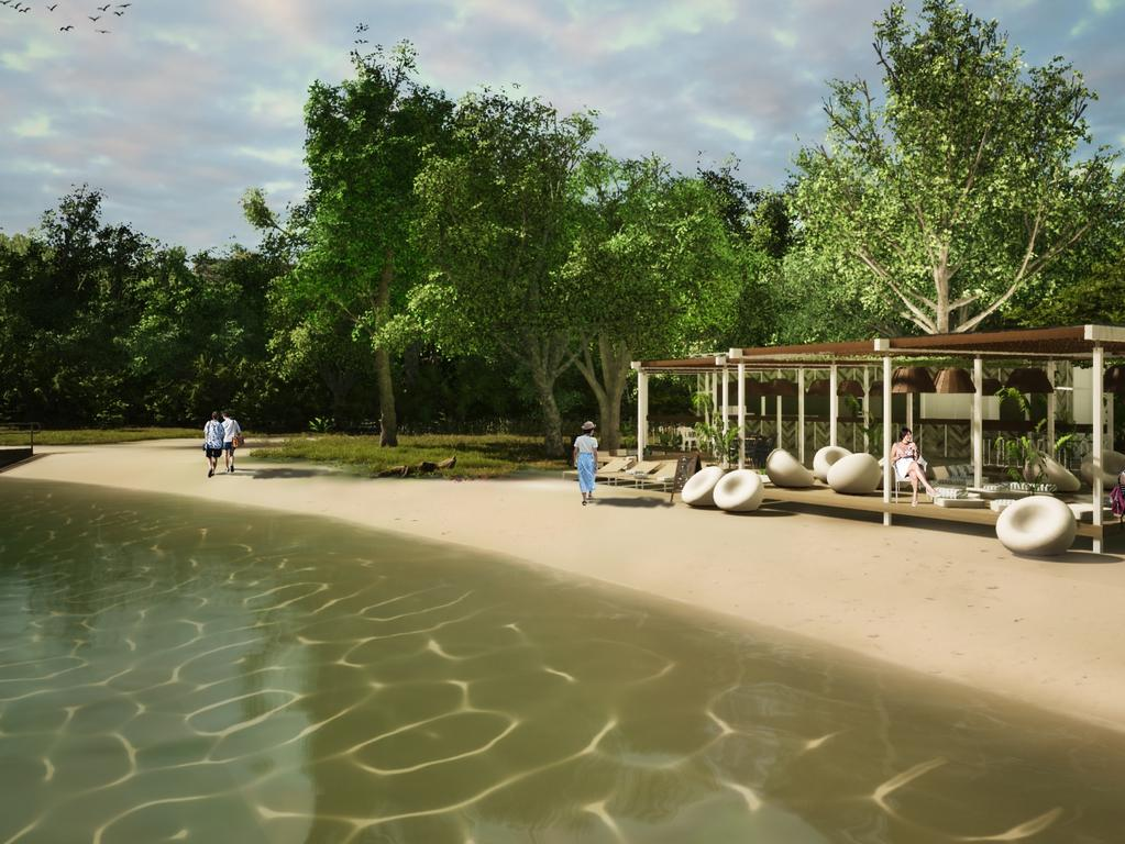Redevelopment plans for the Dunk Island spit.