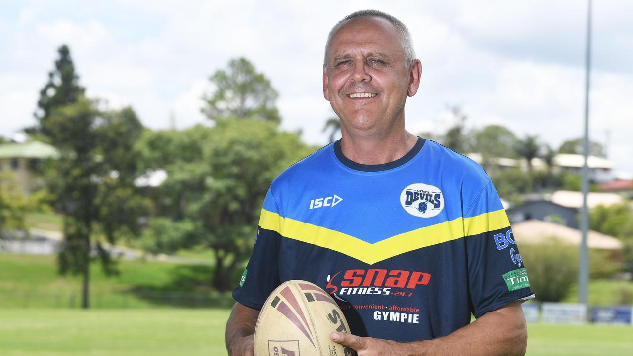 Gympie Devils coach Michael Buckley has re-signed for the 2021 season.