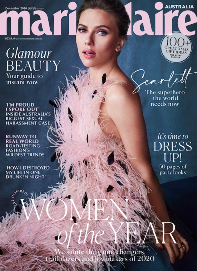 The full issue of marie claire is on sale November 12. Picture: Supplied