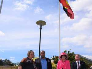 HISTORY MADE: Aboriginal flag flying high at Murgon RSL