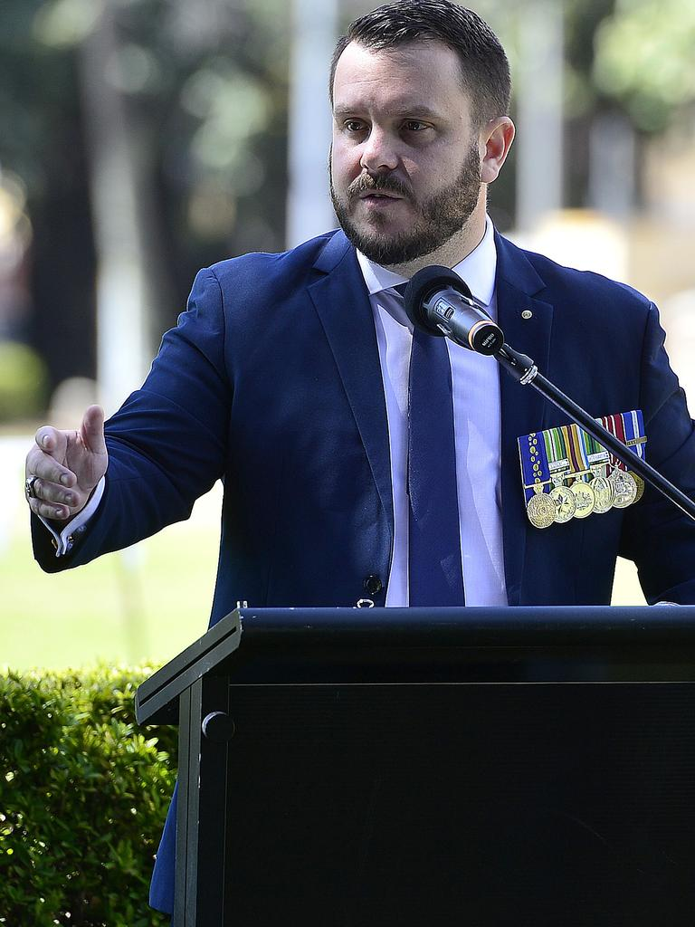Herbert MP Phillip Thompson – who deployed with Townsville's 1st Battalion, Royal Australian Regiment in 2009 – says he did not witness any wrongdoing during Afghanistan deployment. PICTURE: MATT TAYLOR.