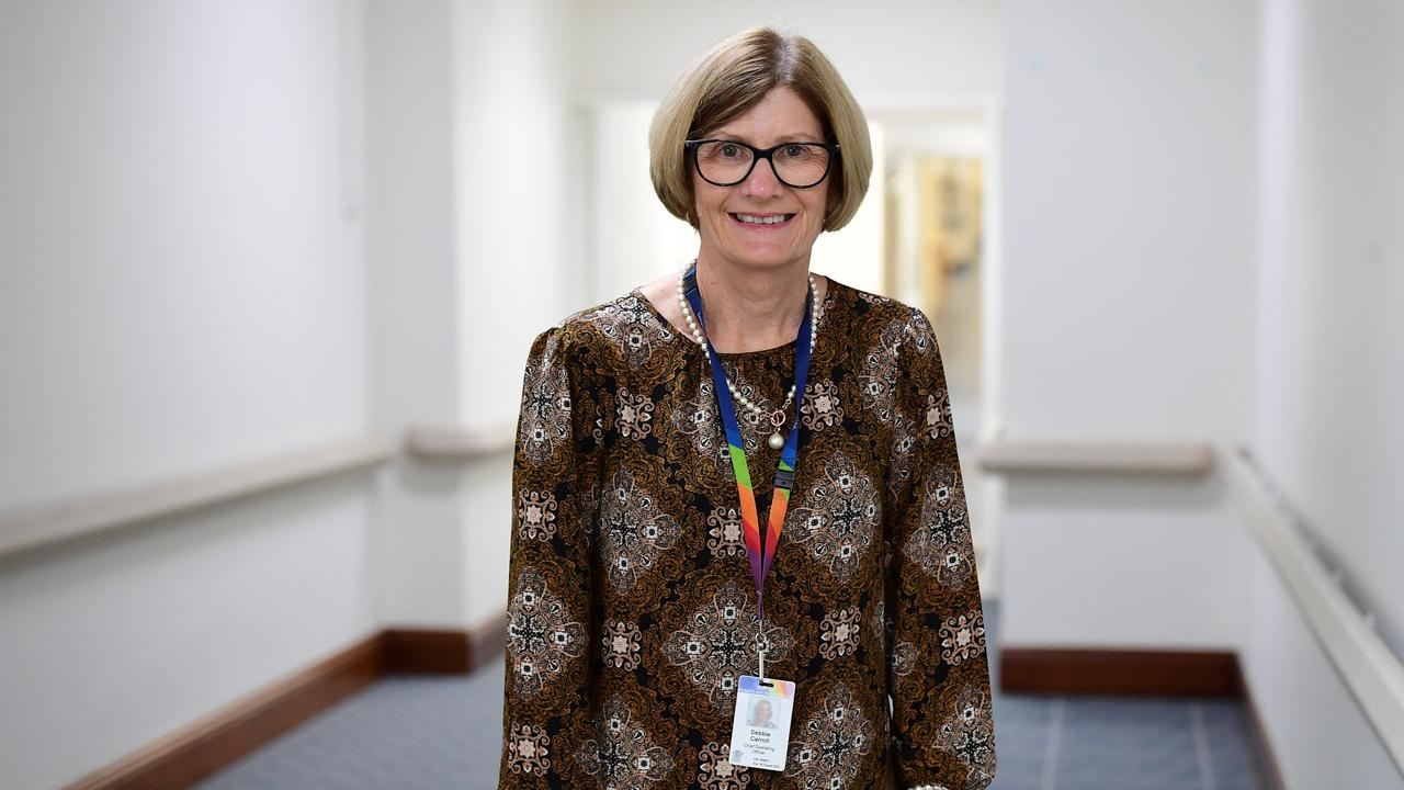 Chief Executive of Wide Bay Hospital and Health Service, Debbie Carroll. Picture: Mike Knott