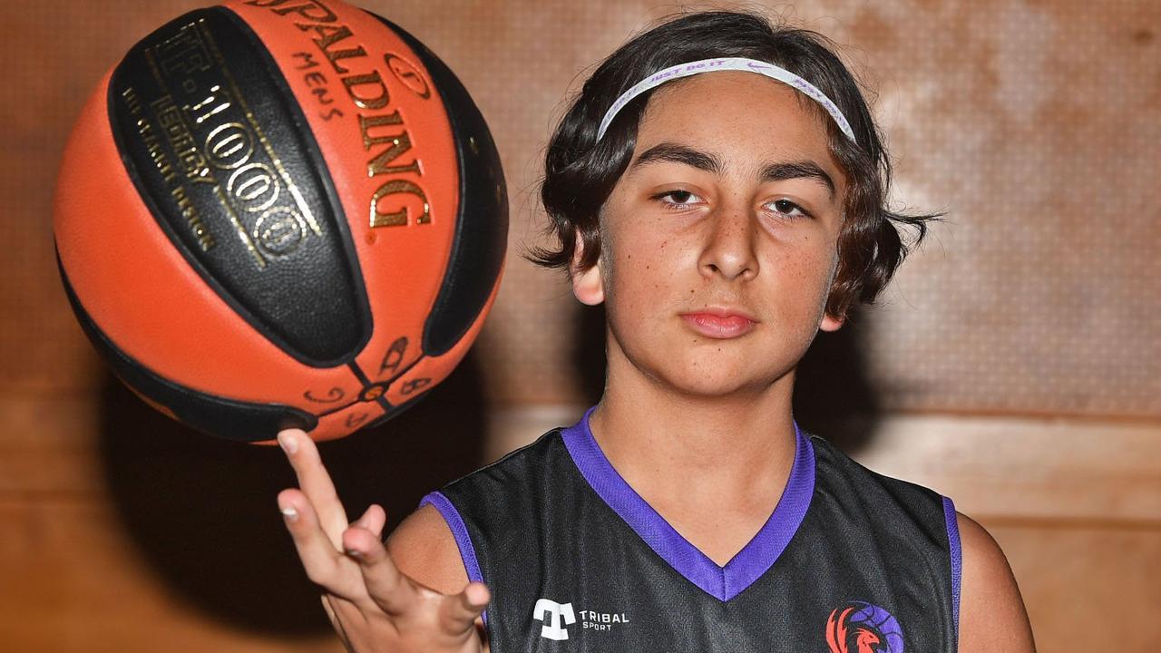 Gympie basketballer Jake Henry-May