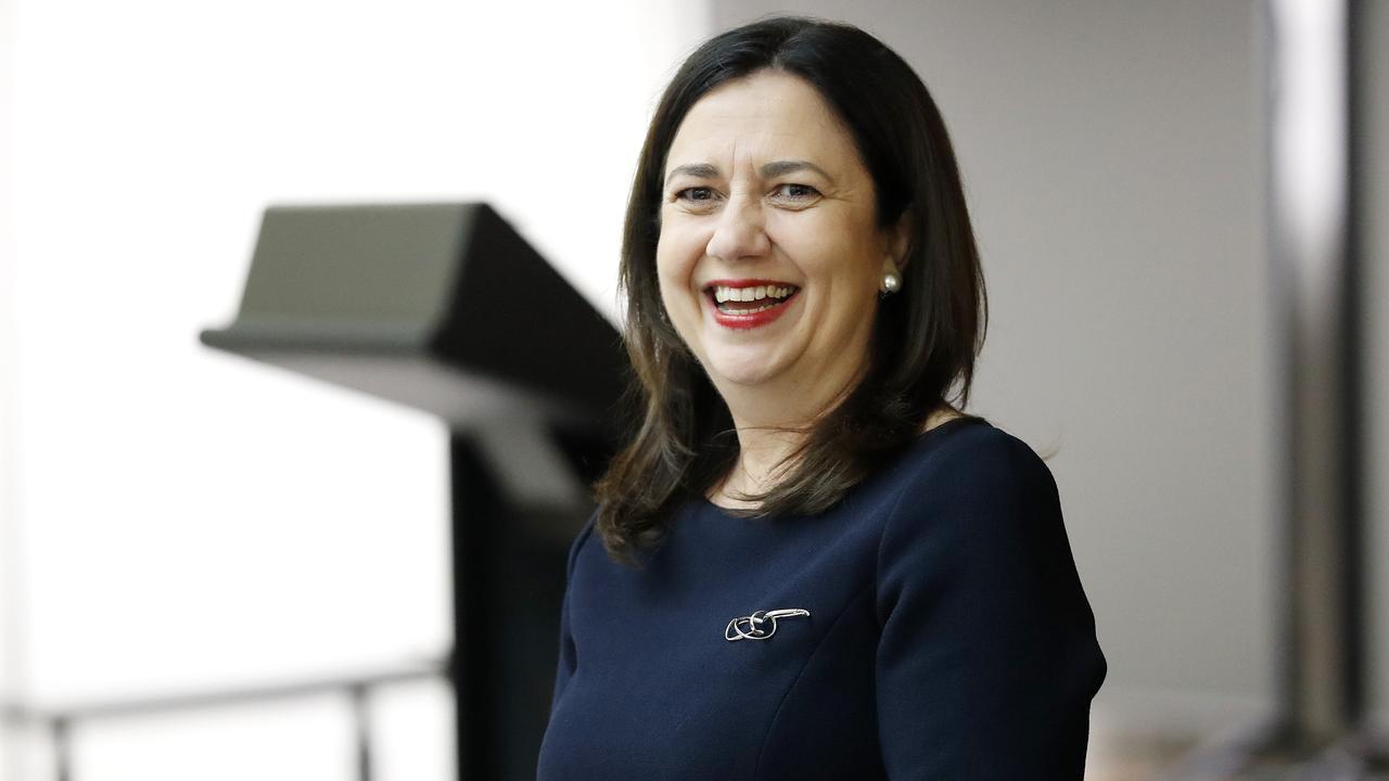 Premier Anastasia Palaszczuk. Picture: Josh Woning