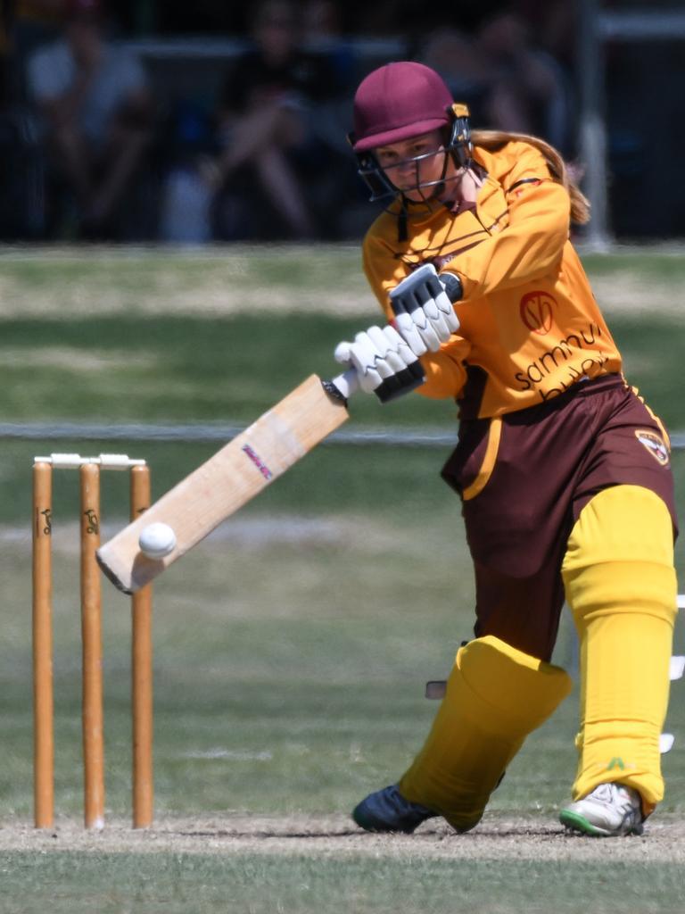 Ipswich Hornets cricketer Kira Holmes. Picture: Darren J McCabe Photography