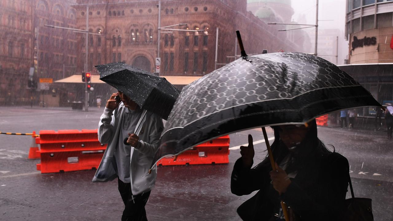 Sydney's copped a drenching in recent weeks thanks to the La Nina weather pattern.