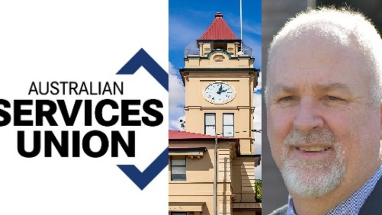 The Australian Services Union says it is watching Gympie Regional Council and CEO Shane Gray closely with concerns about potential job cuts still in the wind.