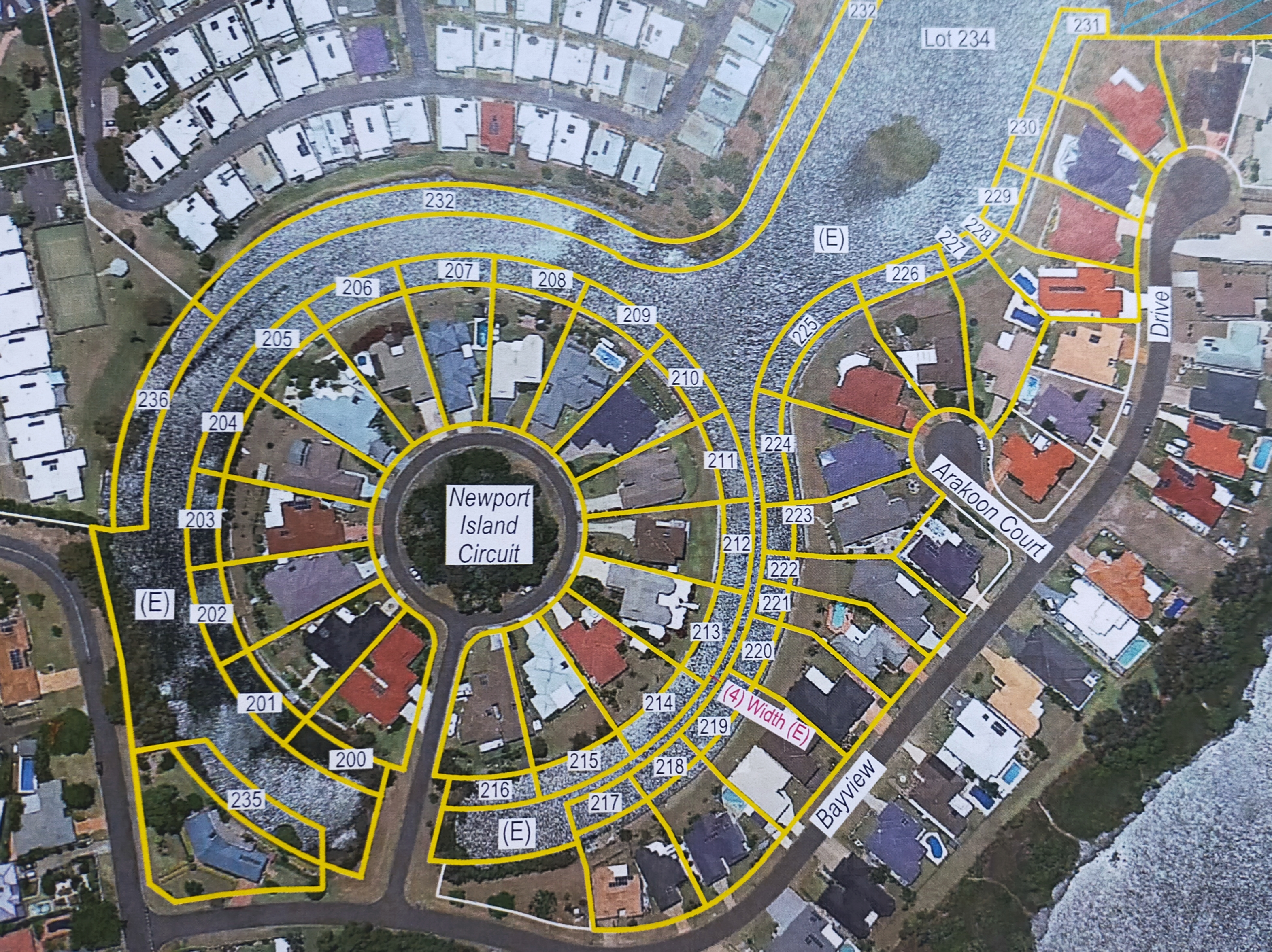 The proposed 37-lot subdivision for Orion Drive, Yamba DA 2020/0543.