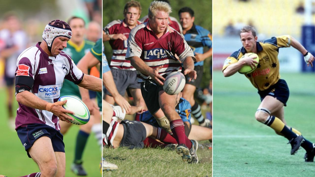 Club legends Tony Harmer, Adam Gamlin and Ryan Constable have all been named in the Noosa Dolphins old boys dream team.