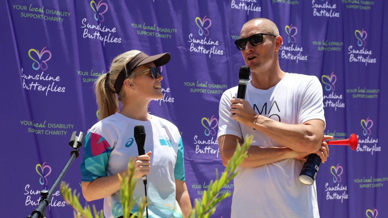Courtney Akrigg from World Triathlon, interviews recently retired professional triathlete Luke McKenzie who had some inspirational words to share with Sunshine Butterflies.