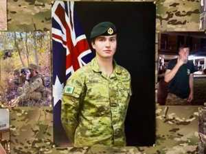 'He left us too soon': Queensland soldier found dead on base