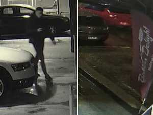 CCTV released in hunt for shooter