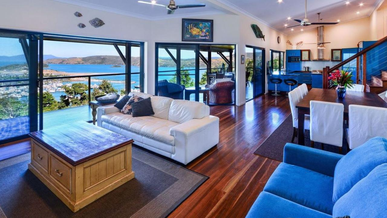 For $2,750,000, you could pick up The Cowries at 2 Cycad Close, Hamilton Island. Picture: realestate.com.au