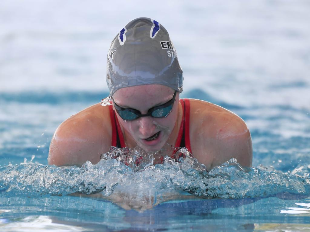 Emu Park's Emma Doherty will be among the swimmers to watch at the Tropic of Capricorn meet on Saturday.