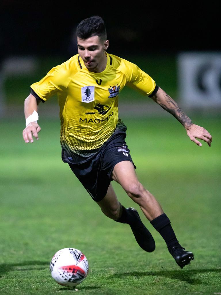 Magpies Crusaders player Kyren Walters.