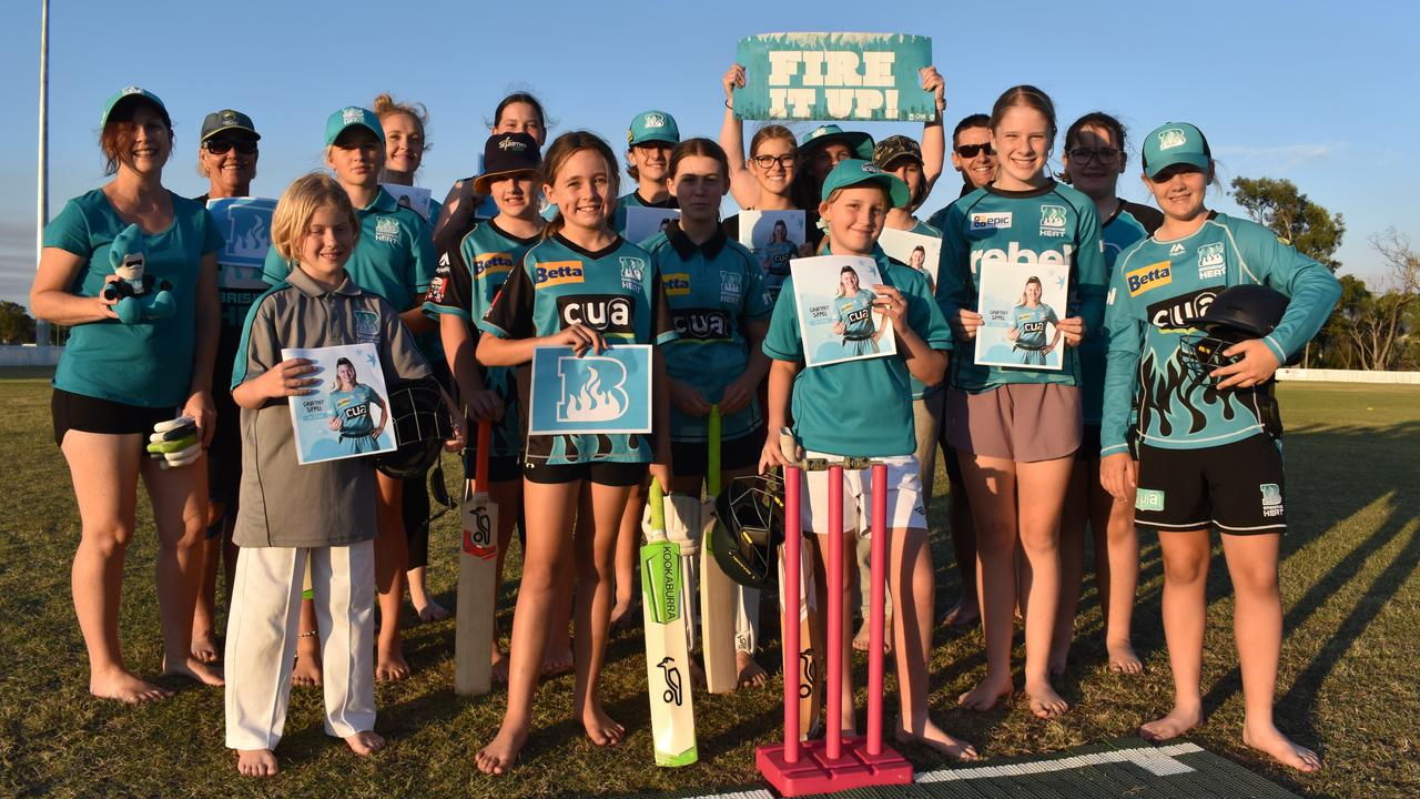 GIRLS CRICKET: The All Girls Cricket Competition at the Hervey Bay Cricket Grounds. Photo: Stuart Fast