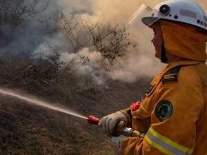 Large bushfire breaks out between Rocky and Mackay
